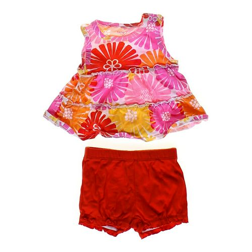 Carter's Ruffled Tank Top & Shorts in size 3 mo at up to 95% Off - Swap.com