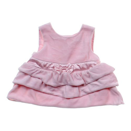 Miniwear Ruffled Velour Dress in size NB at up to 95% Off - Swap.com
