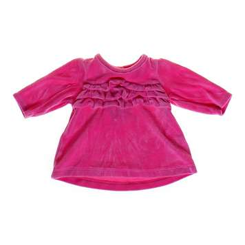 Ruffled Velour Top for Sale on Swap.com