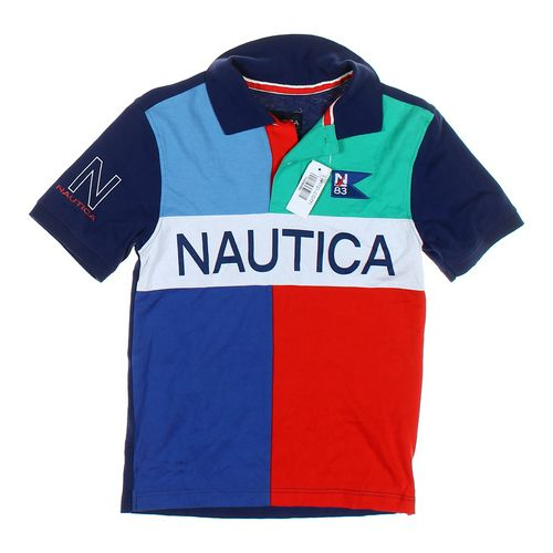 Nautica Rugby Shirt in size 10 at up to 95% Off - Swap.com