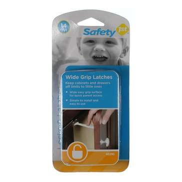 Safety 1st 14 Pack Wide Grip Latches [14] for Sale on Swap.com