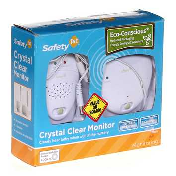 Safety 1st Crystal Clear Baby Monitor, White [] for Sale on Swap.com