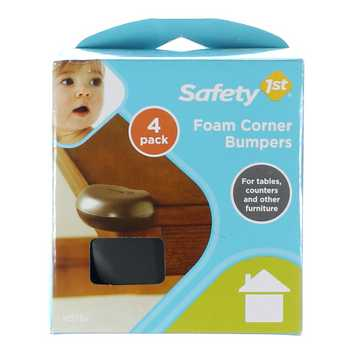 Safety 1st Foam Corner Bumpers, Expresso [] for Sale on Swap.com