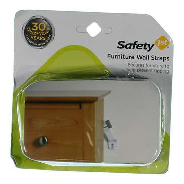 Safety 1st Furniture Wall Straps 2 Count for Sale on Swap.com
