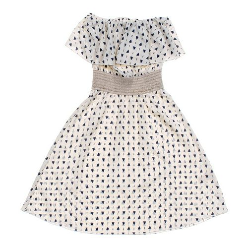 ocean drive clothing co. Sail Print Strapless Dress in size JR 3 at up to 95% Off - Swap.com