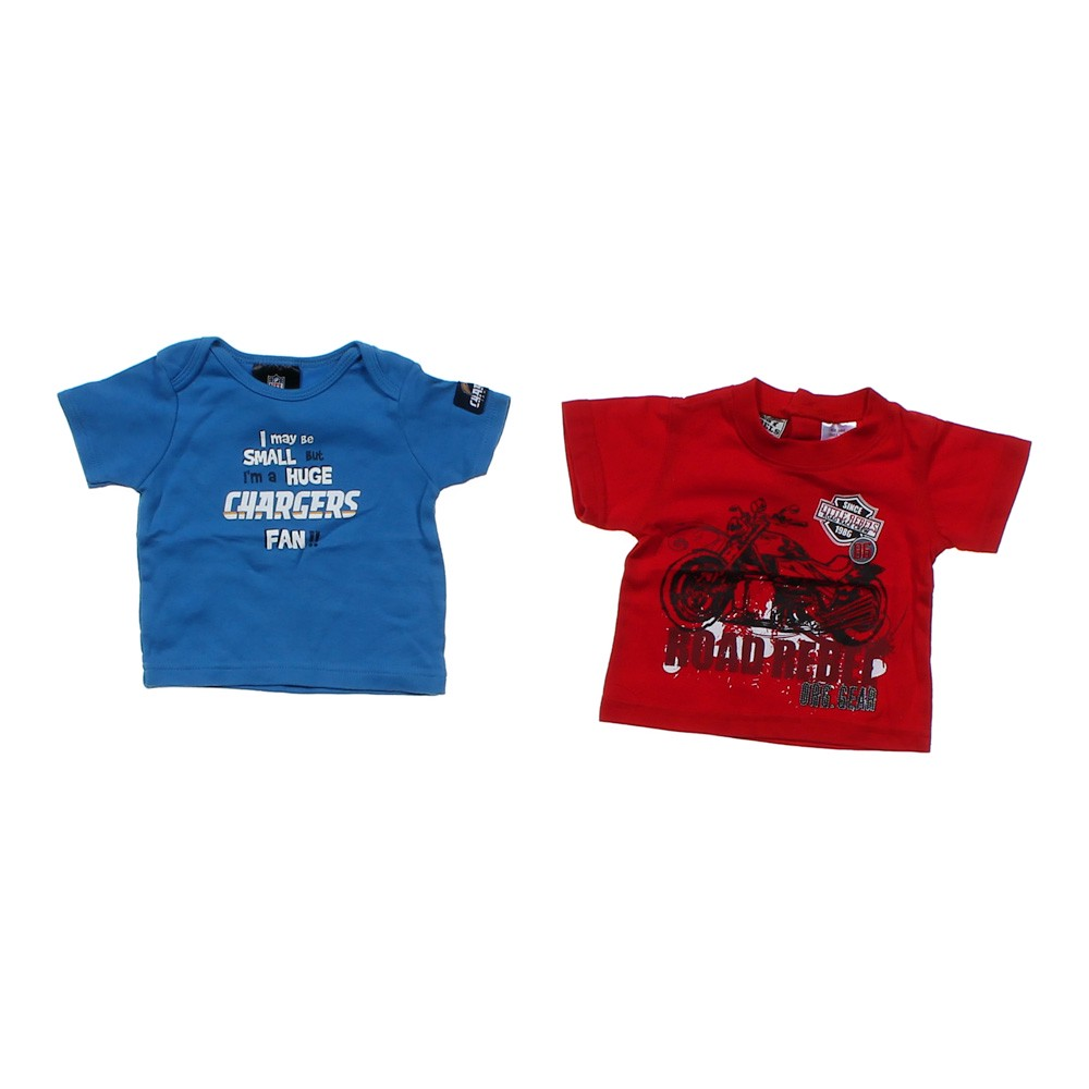 San Diego Chargers Baby Clothes: NFL Team Apparel San Diego Chargers Tee & Graphic Tee Set