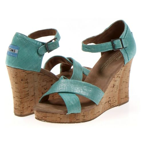 Toms Sandals in size 7.5 Women's at up to 95% Off - Swap.com