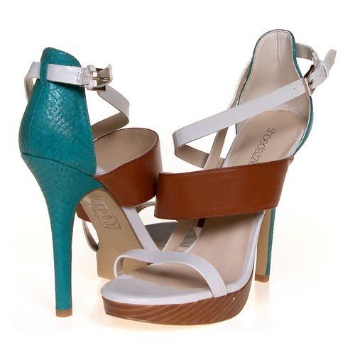 Shoedazzle Sandals in size 8 Women's at up to 95% Off - Swap.com