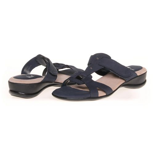 white mt. Sandals in size 8.5 Women's at up to 95% Off - Swap.com