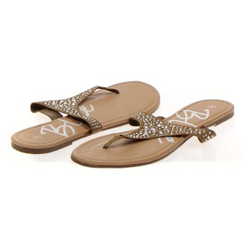 Blue Sandals in size 9 Women's at up to 95% Off - Swap.com