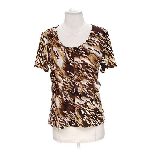 Notations Scoop Neck Blouse in size S at up to 95% Off - Swap.com