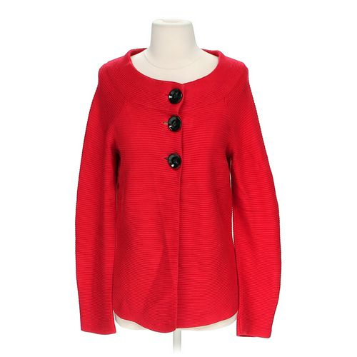 Anne Klein Scoop Neck Cardigan in size S at up to 95% Off - Swap.com