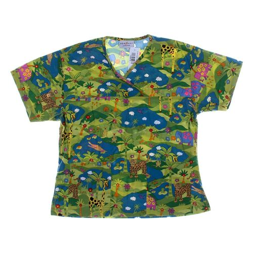 Peaches Uniforms Scrub Top in size XS at up to 95% Off - Swap.com
