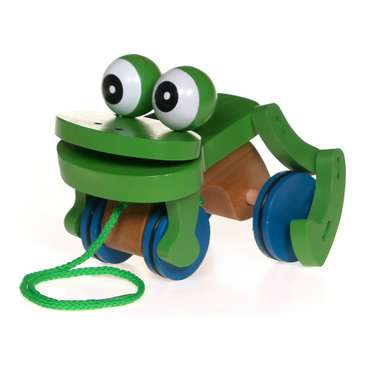 Sensory Toy: Frog Pull Toy for Sale on Swap.com