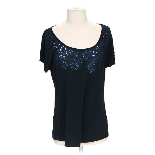 Coldwater Creek Sequin Shirt in size S at up to 95% Off - Swap.com