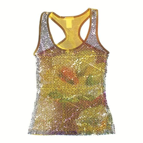 Sequined Front Tank Top in size JR 7 at up to 95% Off - Swap.com