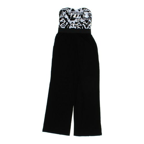 Stillettos Sequined Strapless Jumpsuit in size JR 11 at up to 95% Off - Swap.com