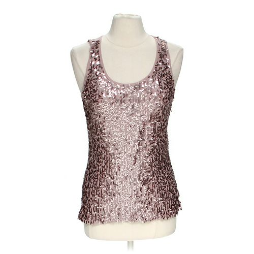 Apt. 9 Sequined Tank Top in size L at up to 95% Off - Swap.com