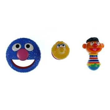 Sesame Street Characters Rattle Set for Sale on Swap.com
