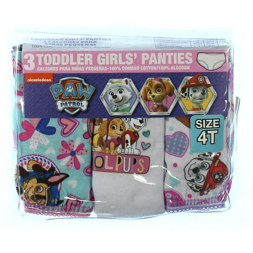 Nickelodeon Set of Toddler Panties in size 4/4T at up to 95% Off - Swap.com
