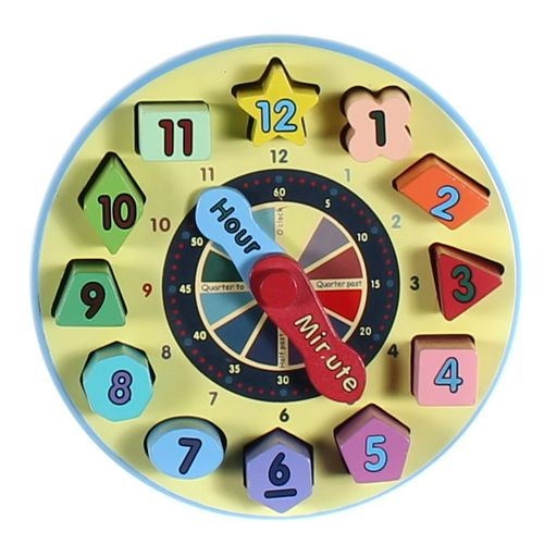 Melissa & Doug Shape Sorting Clock Puzzle at up to 95% Off - Swap.com
