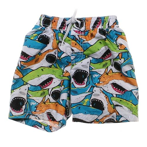 Old Navy Shark Patterned Swim Shorts in size 12 mo at up to 95% Off - Swap.com