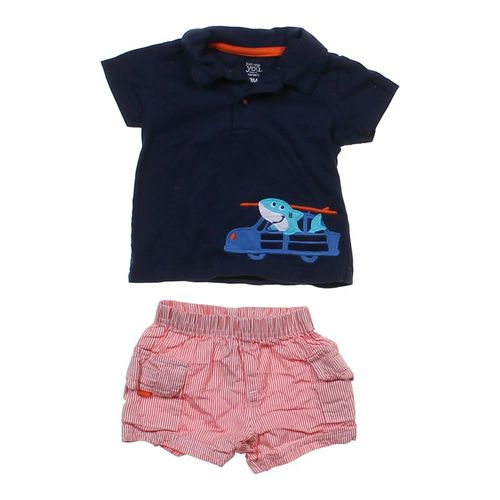 Just One You Shark Shirt & Shorts in size 3 mo at up to 95% Off - Swap.com