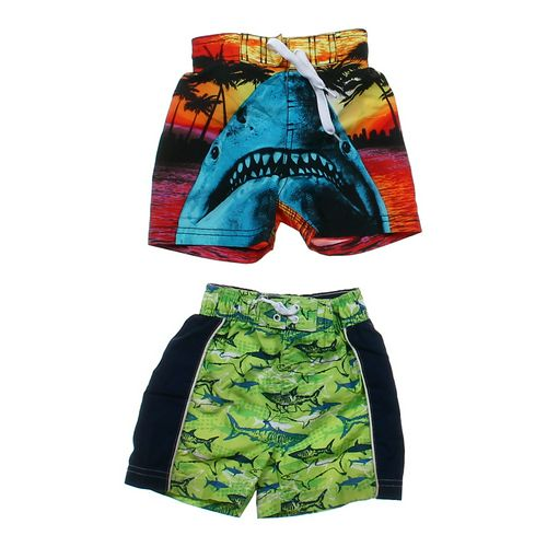 Joe Boxer Shark Swimming Trunks Set in size 12 mo at up to 95% Off - Swap.com