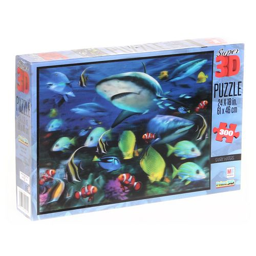MB Shark Waters Super 3D Puzzle at up to 95% Off - Swap.com