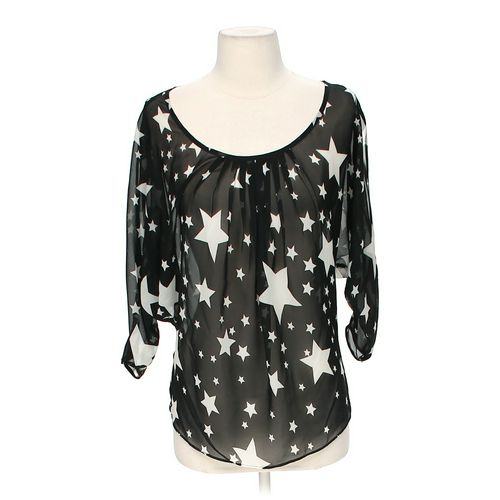 Bisou Bisou Sheer Blouse in size XS at up to 95% Off - Swap.com