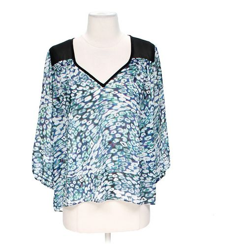 GUESS Sheer Blouse in size M at up to 95% Off - Swap.com