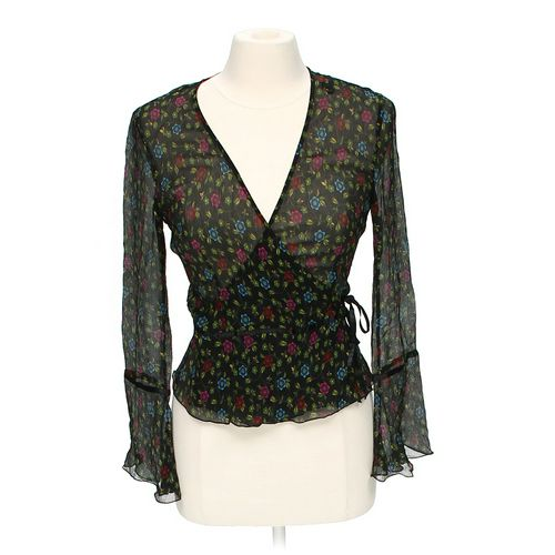 Id/entity By Lord & Taylor Sheer Blouse in size 4 at up to 95% Off - Swap.com