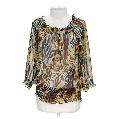Jennifer & Grace Sheer Blouse in size L at up to 95% Off - Swap.com