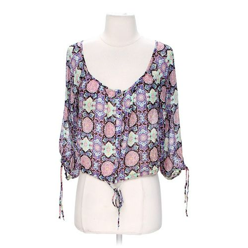 Olsenboye Sheer Blouse in size S at up to 95% Off - Swap.com
