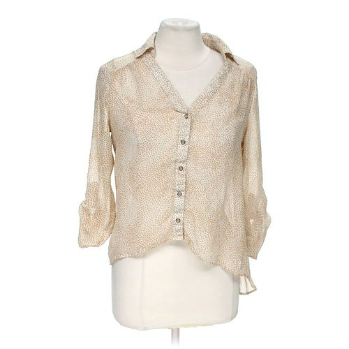 Have Sheer Button-up Blouse in size M at up to 95% Off - Swap.com