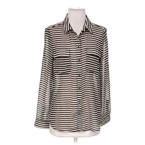 Old Navy Sheer Button-Up in size S at up to 95% Off - Swap.com