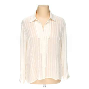 Sheer Button-up Shirt for Sale on Swap.com