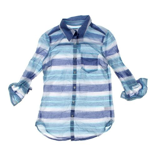 SO Sheer Button-up Shirt in size JR 0 at up to 95% Off - Swap.com
