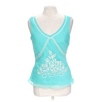 Sheer Embroidered Tank Top for Sale on Swap.com