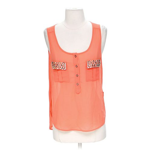 Penelope Mack Sheer Fashionable Tank Top in size S at up to 95% Off - Swap.com