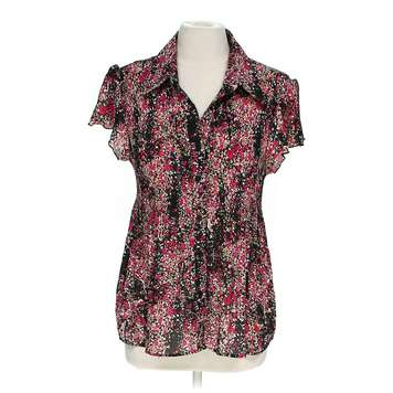 Sheer Floral Button-up Shirt for Sale on Swap.com