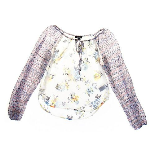 Deb Sheer Floral Shirt in size JR 7 at up to 95% Off - Swap.com