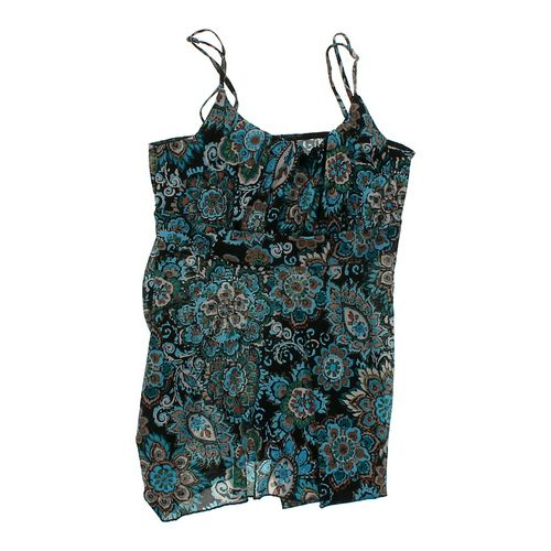 Self Esteem Sheer Floral Tank Top in size JR 7 at up to 95% Off - Swap.com