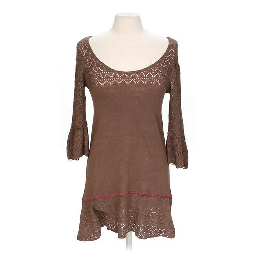 Free People Sheer Knit Dress in size S at up to 95% Off - Swap.com