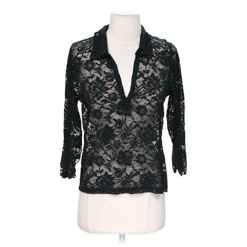 Sheer Lace Blouse in size S at up to 95% Off - Swap.com