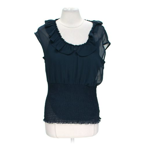 ALLEN B. Sheer Layered Blouse in size L at up to 95% Off - Swap.com