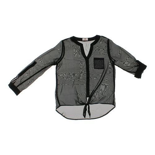 LEI Sheer Layering Shirt in size JR 7 at up to 95% Off - Swap.com