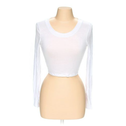 Body Central Sheer Long Sleeve Shirt in size M at up to 95% Off - Swap.com