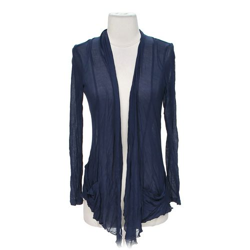 Ambiance Apparel Sheer Open Front Cardigan in size S at up to 95% Off - Swap.com