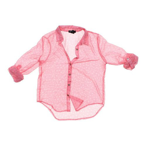 About A Girl Sheer Polka Dot Shirt in size JR 3 at up to 95% Off - Swap.com